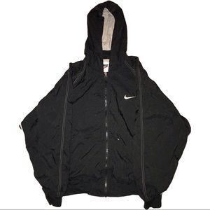 Vintage Nike Windbreaker Hoodie Size L